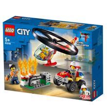 lego CITY ქალაქის ხანძრის ჩაქრობა