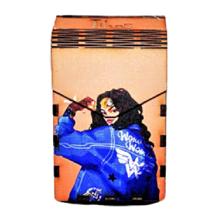Tibox • ტიბოქს ხის ყუთი Wonder Woman