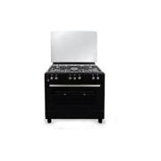 Oz გაზქურა Oz OClassic90X60B5E black