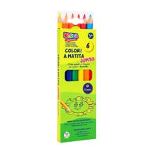 Globo ფერადი ფანქრების ნაკრები 6 ფერი Colored Pencils