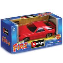 Bburago სათამაშო მანქანა 1:43 Street Fire Collect Dispencer Red