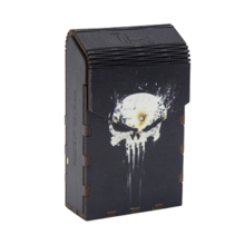 Tibox • ტიბოქს ხის ყუთი The Punisher