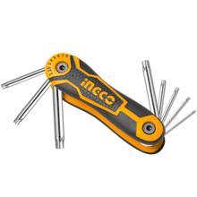 INGCO ექვსკუთხა ქანჩის გასაღებების ნაკრები