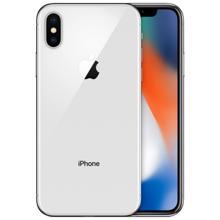 Apple iPhone X 64GB Silver მეორეული მობილური ტელეფონი