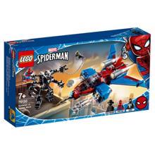 Lego SUPER HEROES სპაიდერმენი შხამის წინააღმდეგ