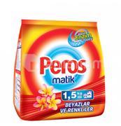 Peros სარეცხი ფხვნილი Peros ავტომატი უნივერსალი 1.5 კგ