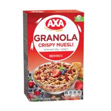 AXA ხრაშუნა მიუსლი თაფლით და კენკრით 150 გრ