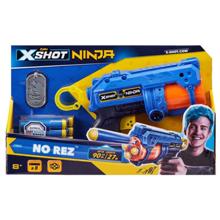 Zuru X-Shot Ninja No Rez თოფი 8 ტყვიით