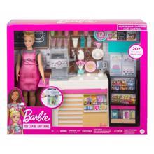 MATTEL Barbie ყავის მაღაზიაში