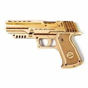 "UGEARS ""პისტოლეტი ვოლფ–01"" (Wolf-01 Handgun) ასაწყობი მოდელი"