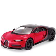 Maisto Bugatti Chiron Sport ლითონის სათამაშო მანქანა