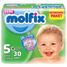 Molfix ბავშვის საფენი N5 #30