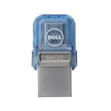 Dell 64 GB USB A/C Combo ფლეშ მეხსიერება