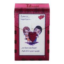 Tibox • ტიბოქს ხის ყუთი Love is...