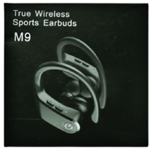 Vitamini.ge M9 Wireless Sports Earbuds ყურსასმენი