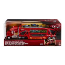 MATTEL Disney Cars Pixar Cars Launching Mack Transporter Vehicle   სათამაშო ტრასა