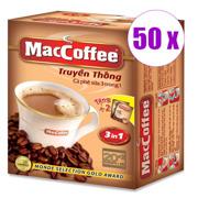 50 შეკვრა შეკვრა ყავა ხსნადი ორიგინალი 3/1 MacCoffee