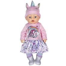 ZAPF Unicorn Girl თოჯინა აქსესუარებით