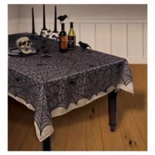 მაგიდის გადასაფარებელი ობობის ქსელებით