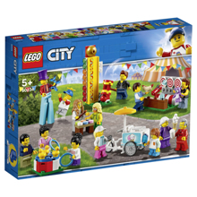 Lego City Town People Pack Fun Fair ასაწყობი ქალაქი