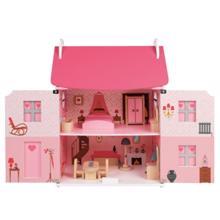 Janod Dollhouse of  with furniture ბარბის სახლი ავეჯით