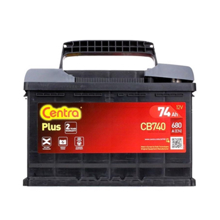 Centra აკუმულატორი Centra PLUS CB740 74 A/h DIN