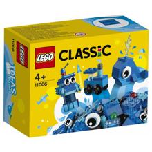 Lego Classic კრეატიული ლურჯი კუბიკები