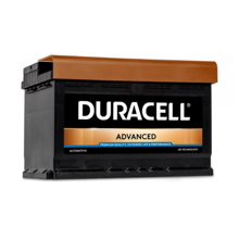 Duracell აკუმულატორი Advanced DA74 74 A/h DIN