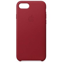 Apple Leather Case for iPhone 8/7 PRODUCT (RED) ქეისი