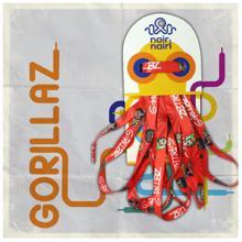ნაირნაირი Gorillaz-ის თასმა