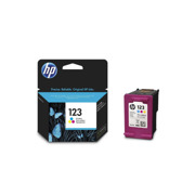 კარტრიჯები HP 123 Tri-color (F6V16AE)