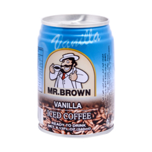 Mr. Brown ცივი ყავა Vanilla 240 მლ