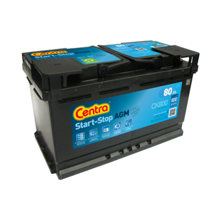 Centra აკუმულატორი Centra Start-stop CK800 80 A/h AGM DIN