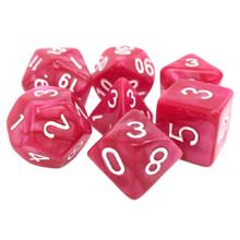 Tortuga კამათელი 7-set Coral Grief ROwh RPG Dice
